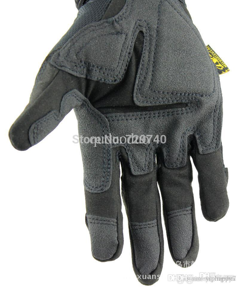 Mécanix Wear M-PACT3 MFL Motorcross Moto Airsoft Militaire Tactical Protection Cyclisme Full Finger Gloves Livraison gratuite