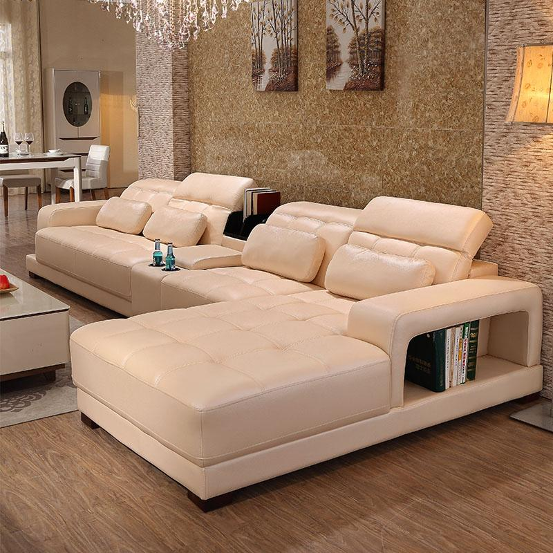 Cheap Genuine Leather Sectional Sofa: Shop Living Room Furniture Online, Modern Genuine Leather