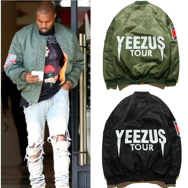 Bomber Flight Jacket Kanye West Yeezus Tour Jackets Limit Edition ...