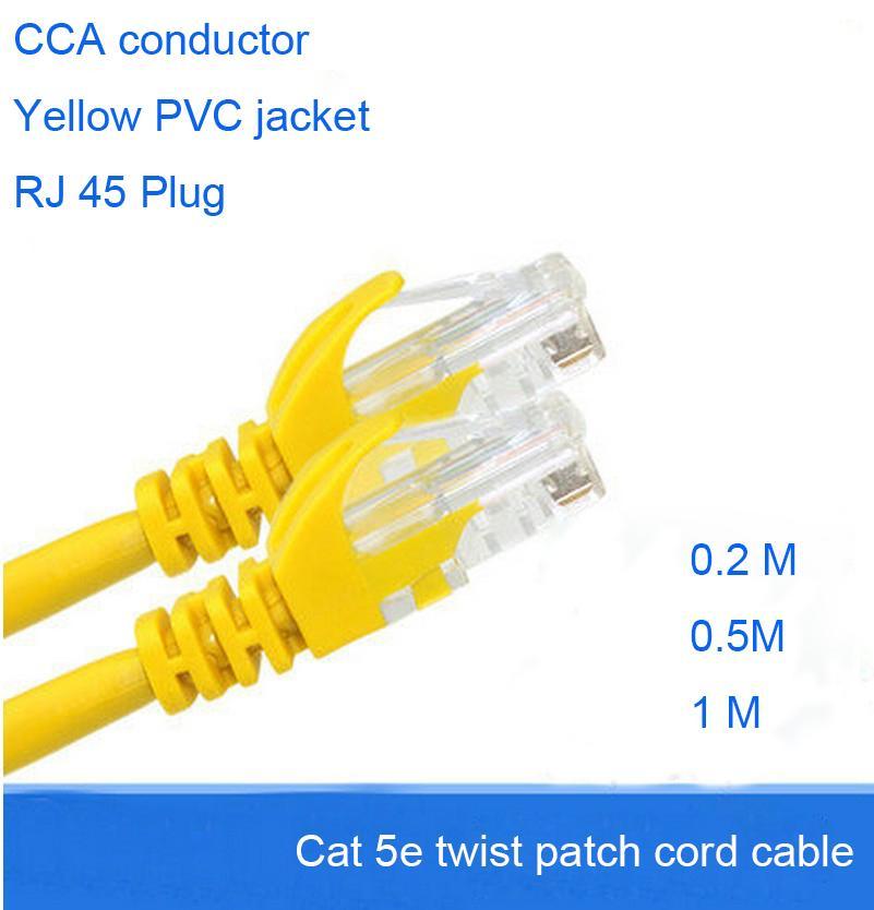 20 Cm 50 Cm Short Jumper Wire Lan Cable Patch Cord Cable Rj45 ...