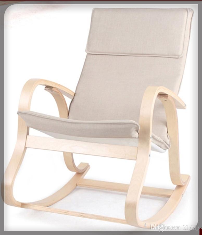 2017 Garden Furniture Bentwood Rocking Chair Glider Wicker Recliner 5 Design Relaxing Outdoor