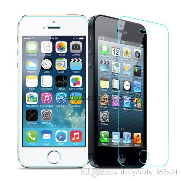 Tempered Glass Screen Protector film 9H Explosion Proof For iPhone 6 6S Plus iph - Wholesale Cell Phone Screen Protectors for iP