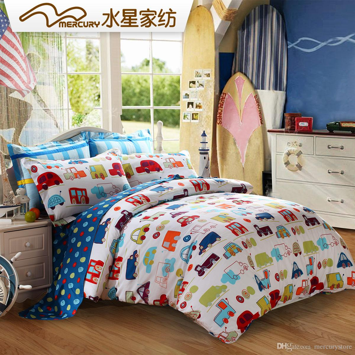 Mercury Home Textile 100 Cotton Printed Bedding Sets With