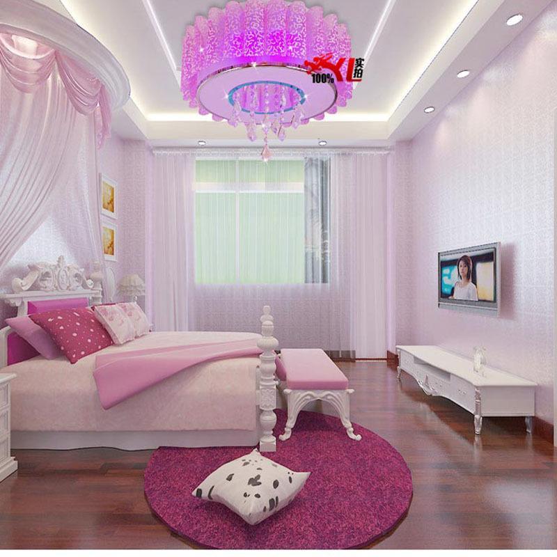 Crystal led lámpara de techo de estilo moderno minimalista sala de ...