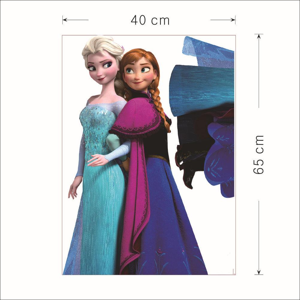 Home decor frozen anna queen ellsa wall stickers cartoon wallpaper home decor frozen anna queen ellsa wall stickers cartoon wallpaper removable sticker waterproof kids room decorative poster wall sticker sticker frozen wall amipublicfo Gallery