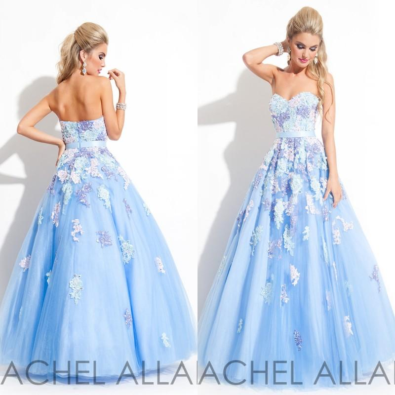 2015 Rachel Allen Dresses Long Prom Dress A Line Sweetheart Ice ...