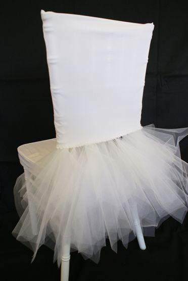 2016 wedding chair covers tulle tiers diy romantic ivory party sash