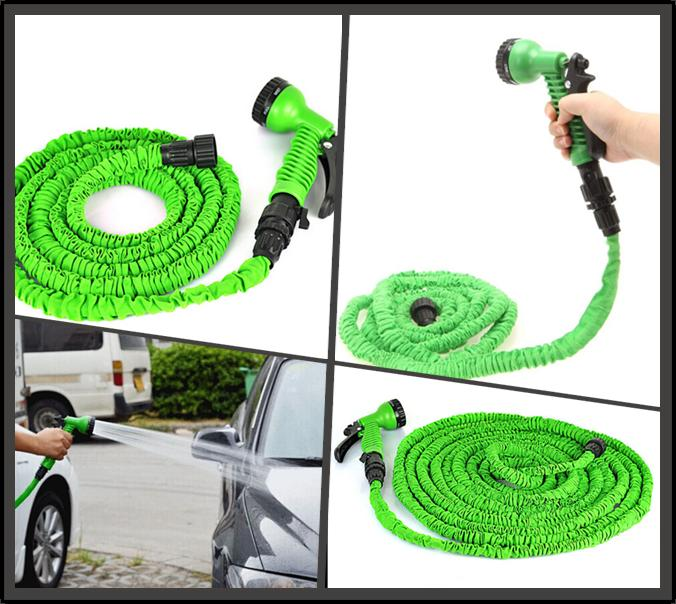 2017 Expandable Hose 100ft Garden Water Hose Expandable Flexible