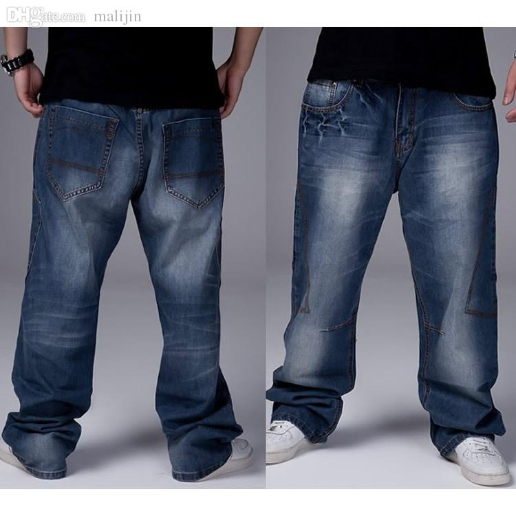 Wholesale-size 30-46 Waist 116 Cm Jeans Men And Plus Size Men 's ...
