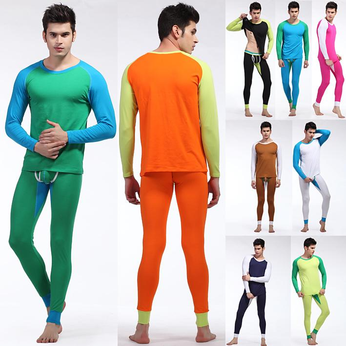 Thermal Underwear Set Male Men's Long Sleeve Pants Men Long Johns ...