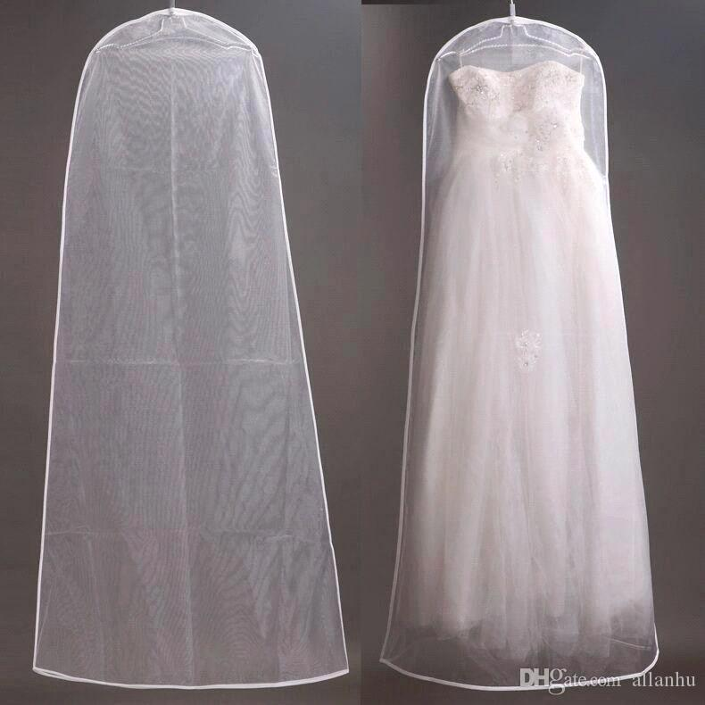 wedding dress bags white dust bag travel storage dust covers bridal