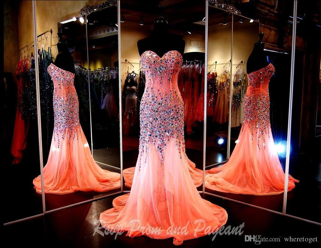 Mermaid Bling Prom Dress – Fashion dresses d3835c01fc90