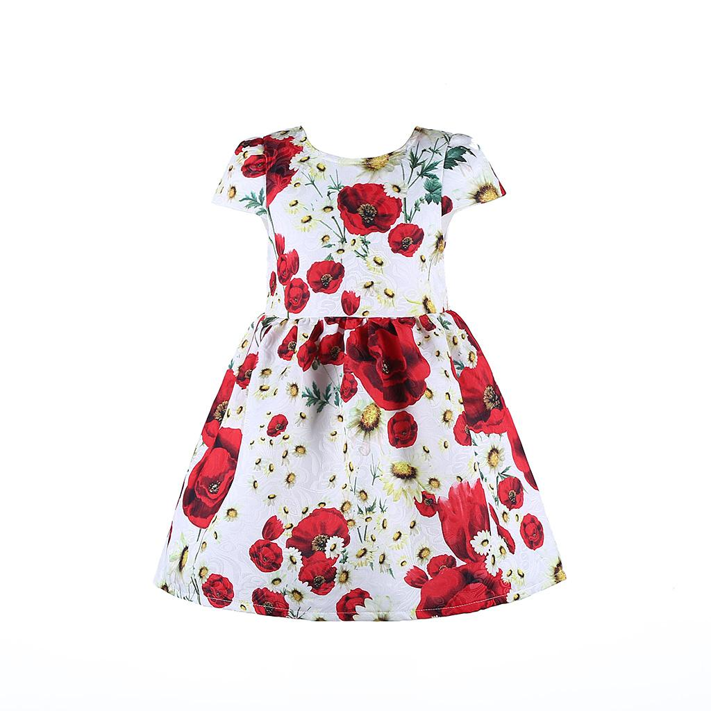 Online cheap 2016 spring fashion girl dress designer kids Designer clothes discounted