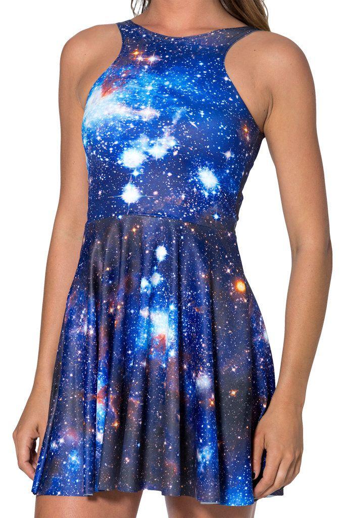 a6bb29adabf The Sleeveless tank dress. Galaxy on Pinterest