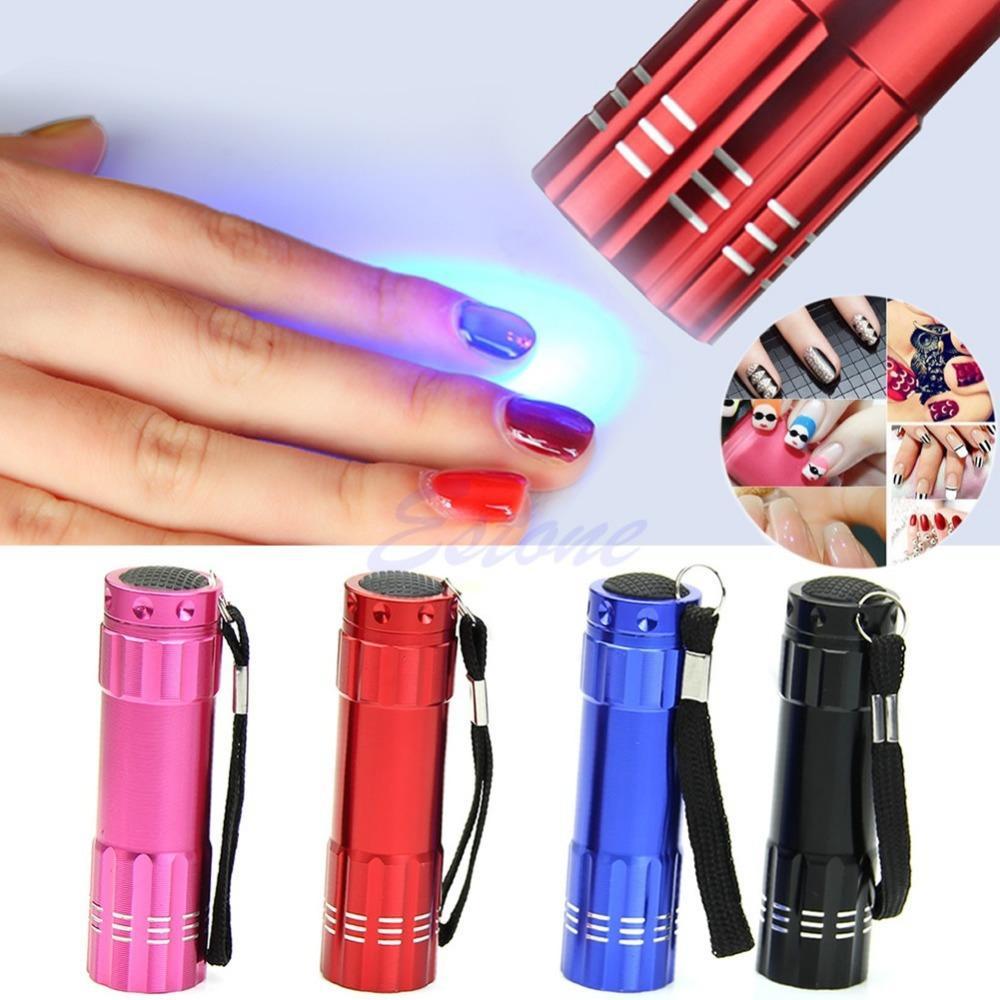 Pas Cher Mini Lampe De Poche Led Lampe Uv Sechoir A Ongles Portable