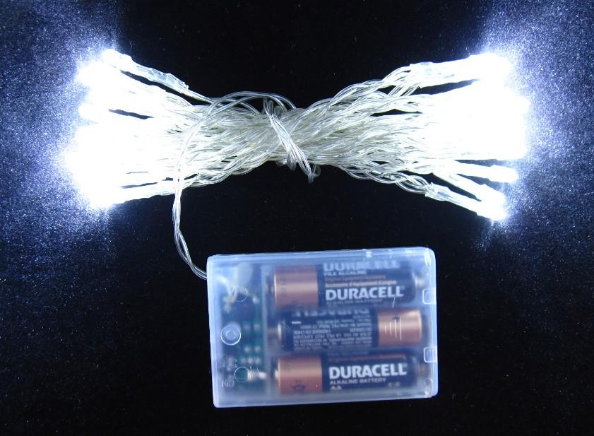 Holiday String Lights Wig : Led Christmas Lights Fairy String Lamp Holiday Lighting 3 Meters Blue Light Pure White Light ...