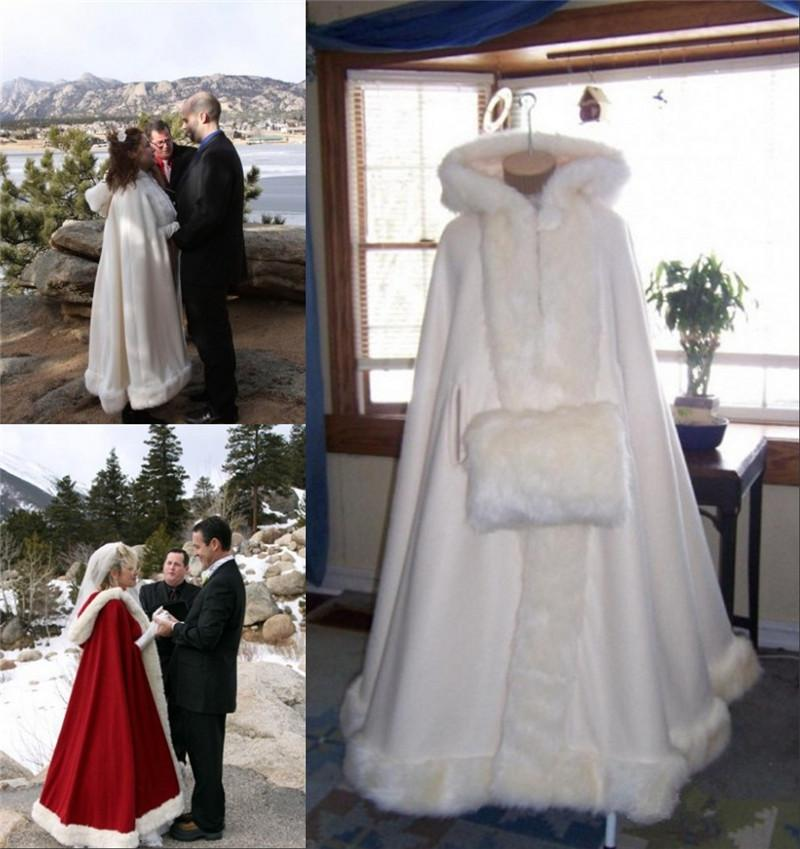2017 winter bridal faux fur shawl girls wrap cloaks with for Winter shawls for wedding dresses