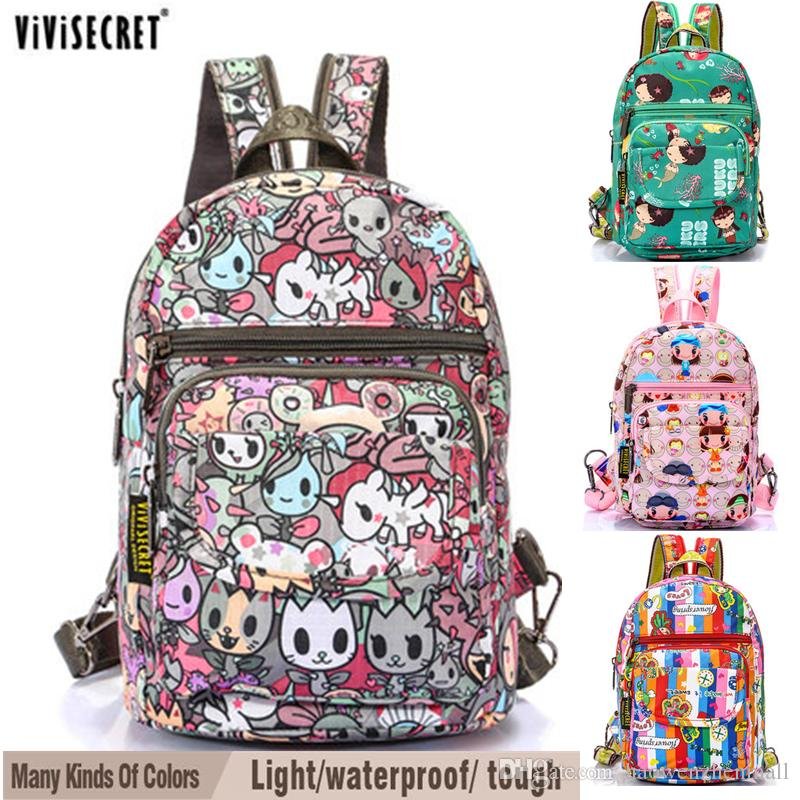 Vivisecret Cute Kids Waterproof Backpacks Good Quality School ...