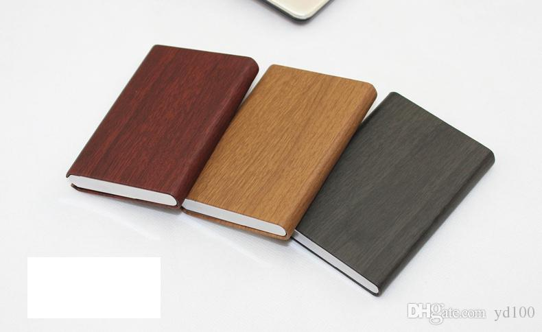 high end business card holder id credit card case metal