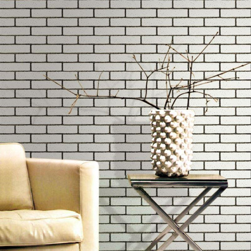 Amazon.com: 2016 NEW New 77cm70cm white brick Pattern Self ...
