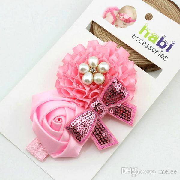 Vendas de los niños del bebé del pelo accesorios para el cabello para niños muchachas de