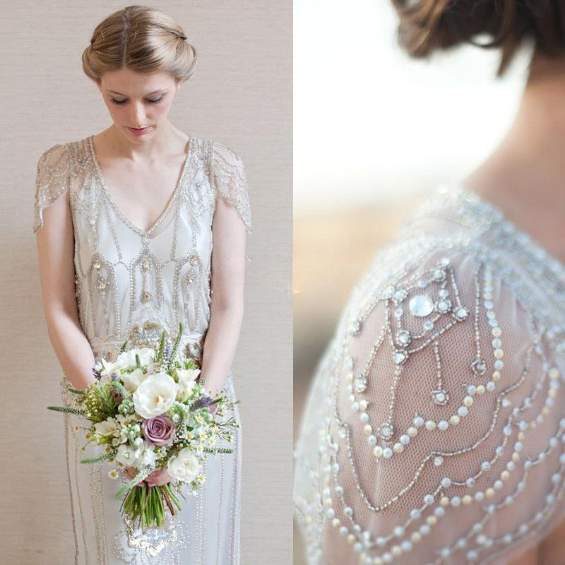 2015 Jenny Packham Eden Style Wedding Gowns Sheath Open Back with ...