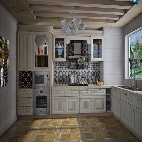 2017 Kitchen & Cabinet Glass Door/Roller Shutter For Kitchen Cabinet/Aluminium Kitchen Cabinet