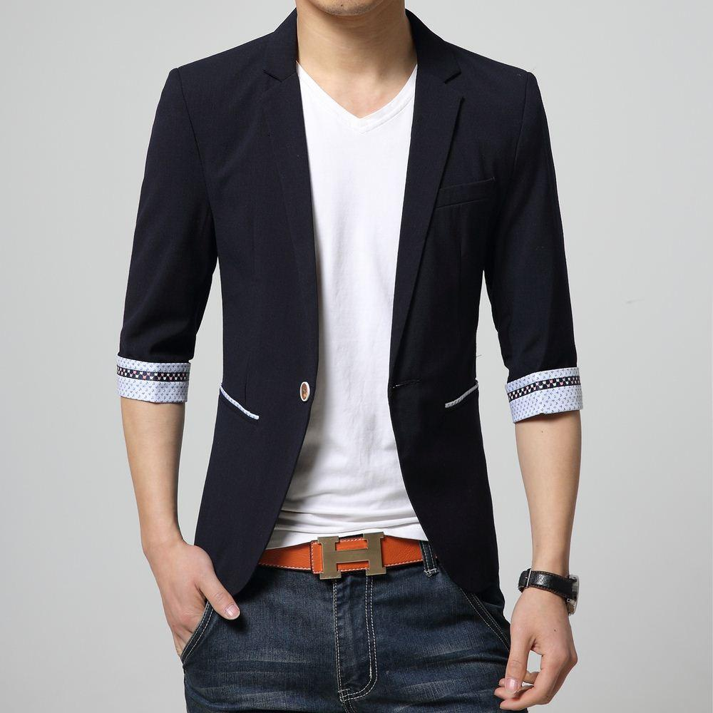 Online Cheap 2015 Suit Styles Men Latest Spring Fashion Casual