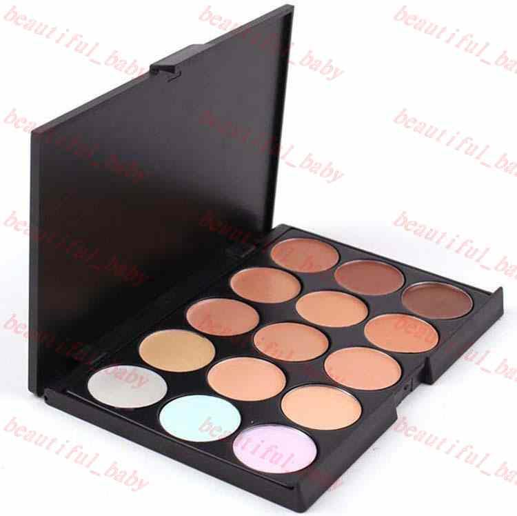 2015 Professional Concealer Facial Neutral Care Camouflage Nake Glitter Eyeshadow Makeup Palette