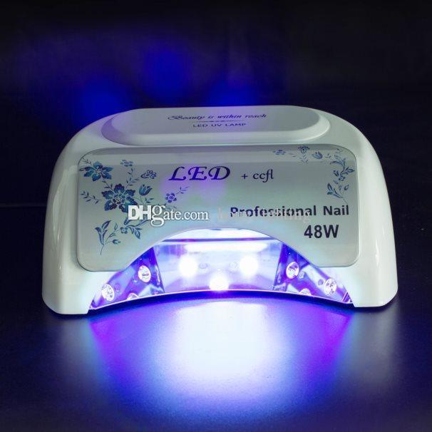 Hot Selling 48W Nail Lamp 18k UV LED&CCFL High Power