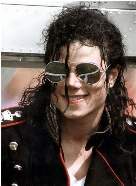 Michael Jackson Wig Black Blown Afro Kinky Synthetic Wig