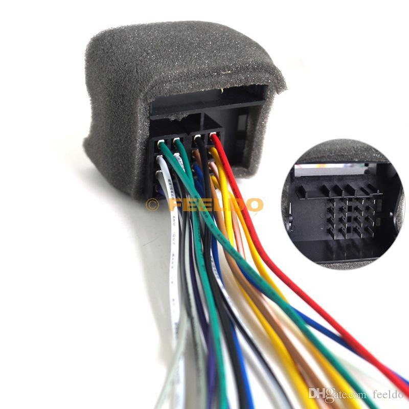 2017 Car Cd Player Radio Audio Stereo Wiring Harness