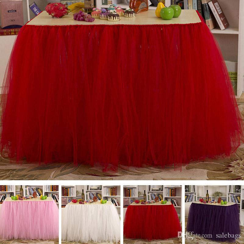 Wholesales Quality Fashion Home Decor Table Skirt Wedding Holiday ...