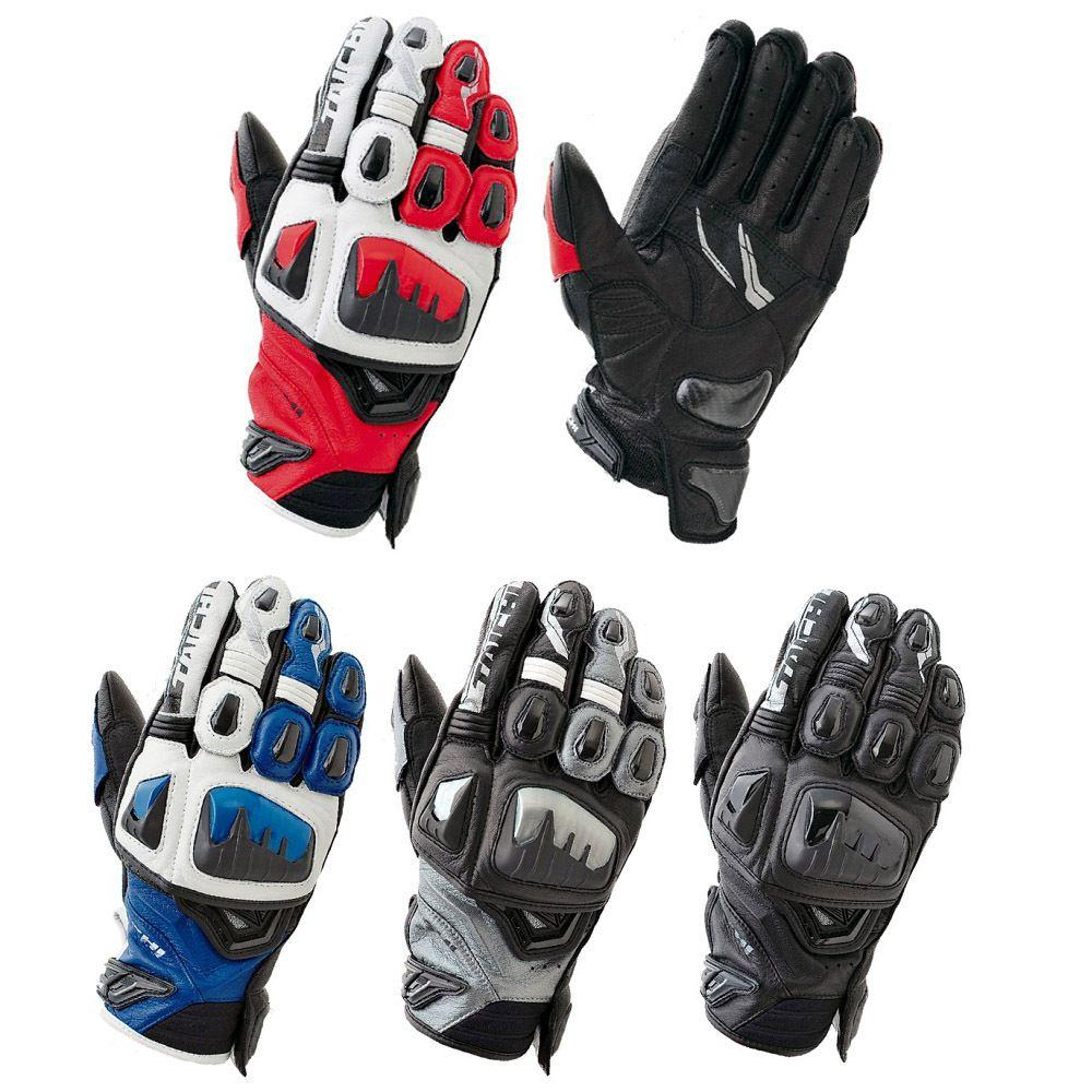 Japanese leather motorcycle gloves -