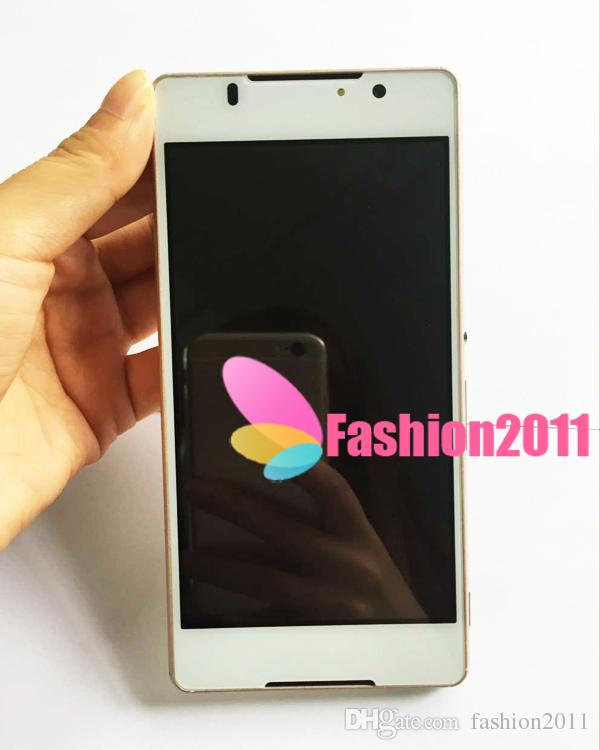 Unlocked 5.0inch Smartphone Z4 MTK6572 Dual Core 512 Mo de RAM 4 Go ROM Android