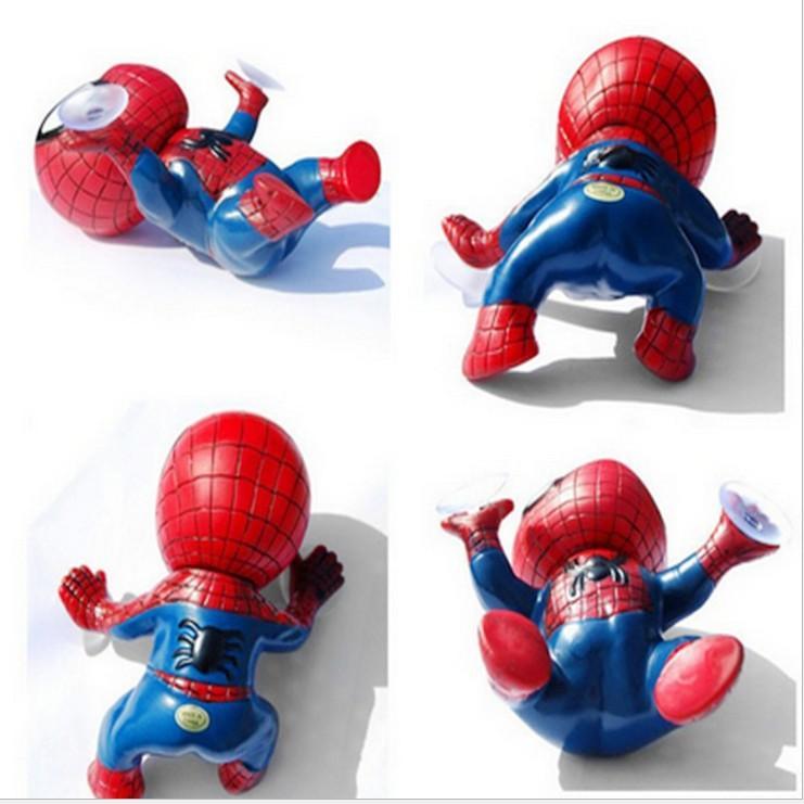 2017 wholesale the avengers spider man doll spiderman figures car decoration car interior car. Black Bedroom Furniture Sets. Home Design Ideas