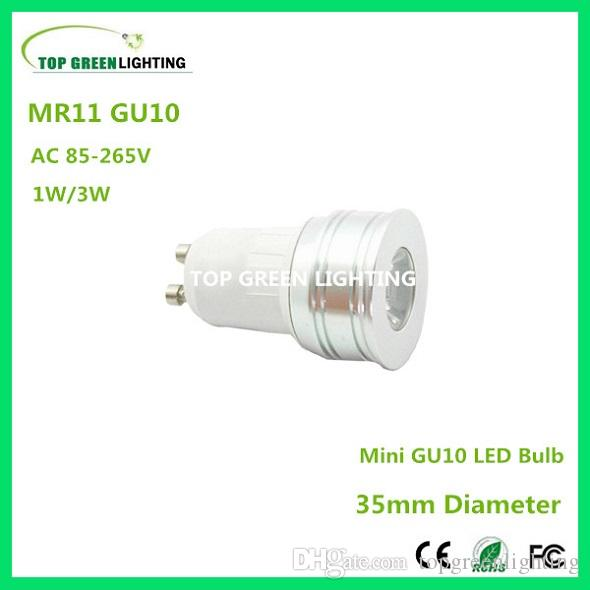 5 x gu10 35mm mini led light bulb mr11 gu10 1w 3w small led 35mm ac 110v 220v 230v 240v gu10. Black Bedroom Furniture Sets. Home Design Ideas