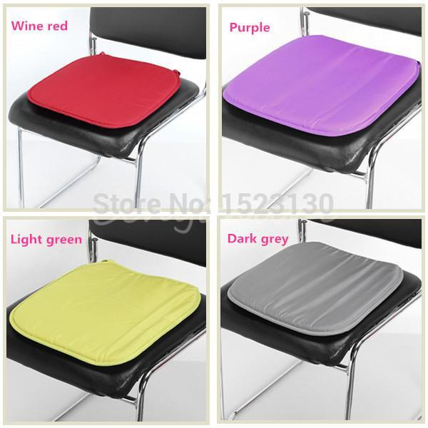 Soft fort Sit Seat Mat Lumbar Pillow fice Chair Car Seat Cushion Bolster Buttocks Tie Cover Pad New xx2cm Discount Outdoor Cushions Patio