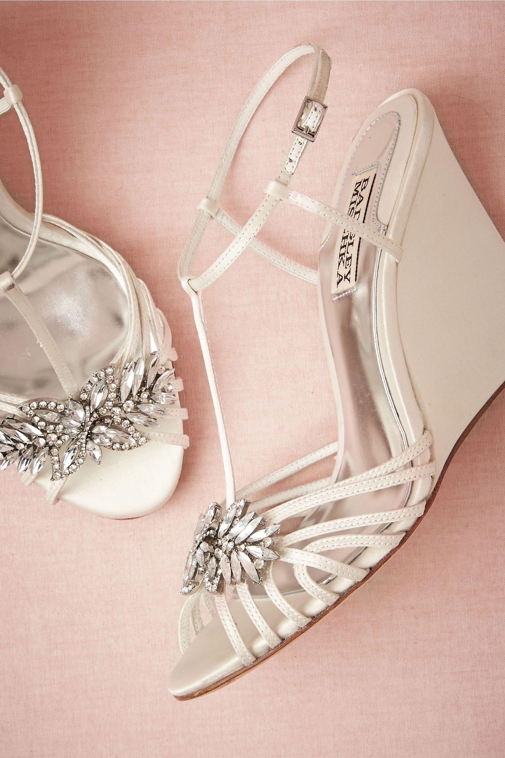 2015 ivoire chaussures de mariage compenses plateformes criss cross sucreries perles de cristal ivoire summer talons - Chaussure Mariage Compense