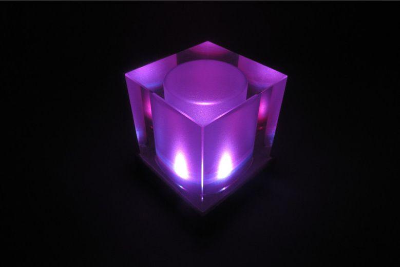 lámpara de cristal de la vela solar \ Luces de la vela ...