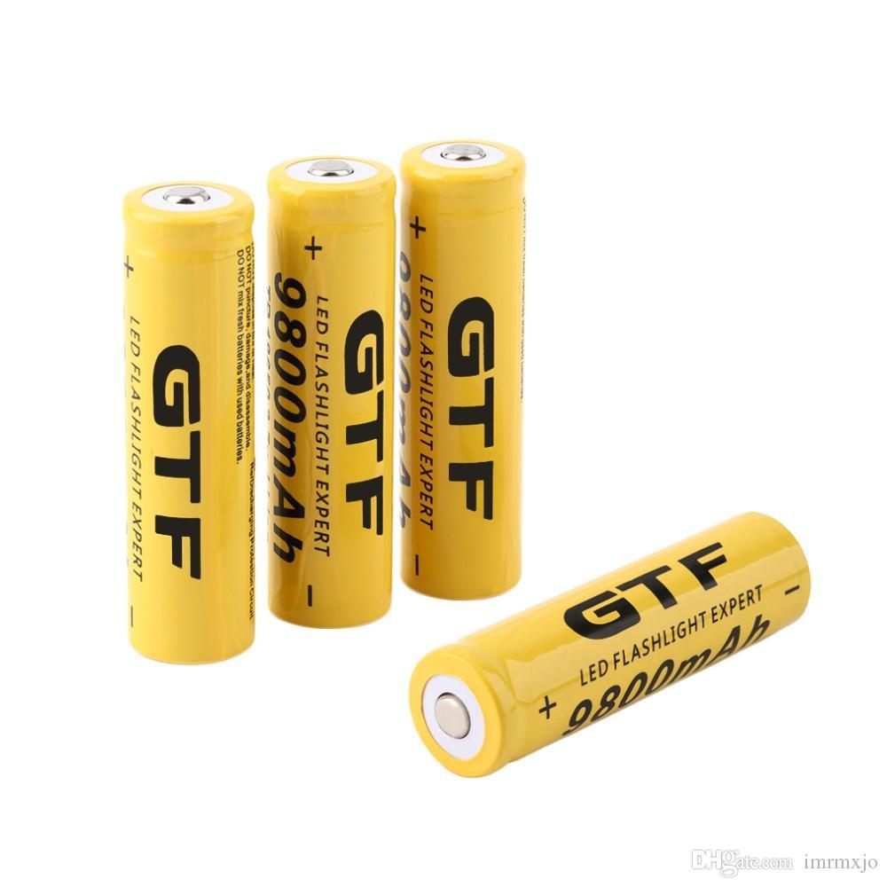 2016 hot tr 18650 9900mah rechargeable li ion battery - Pile 23a 12v ...