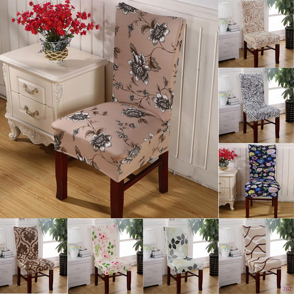 2016 hot sale polyester spandex dining chair covers for