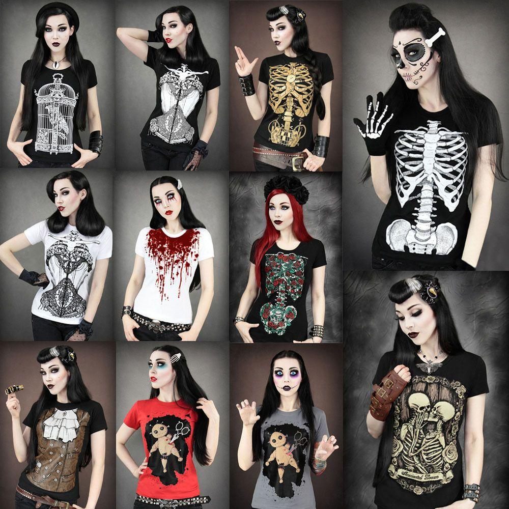 Одежда с рисунками скелетов