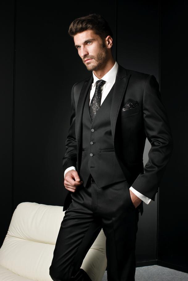 Black Suit For Business - Hardon Clothes