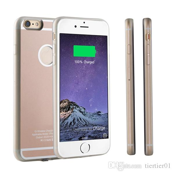 Wireless Charging Case UPi6+ TPU back cover for iPhone 6 Plus three colors for your choice