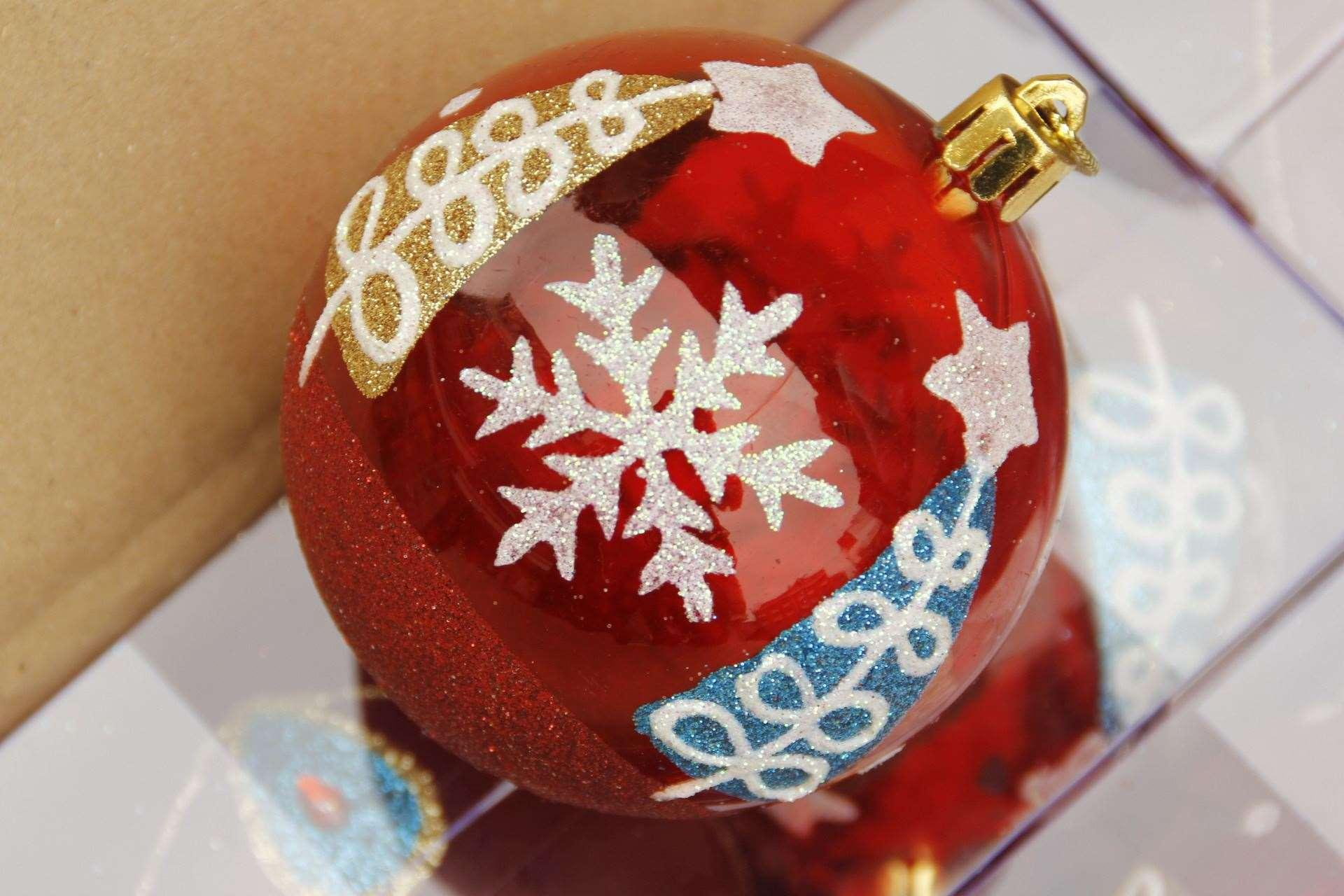 Hei bao christmas crafts christmas decorations 8cm for Christmas ornament sale clearance