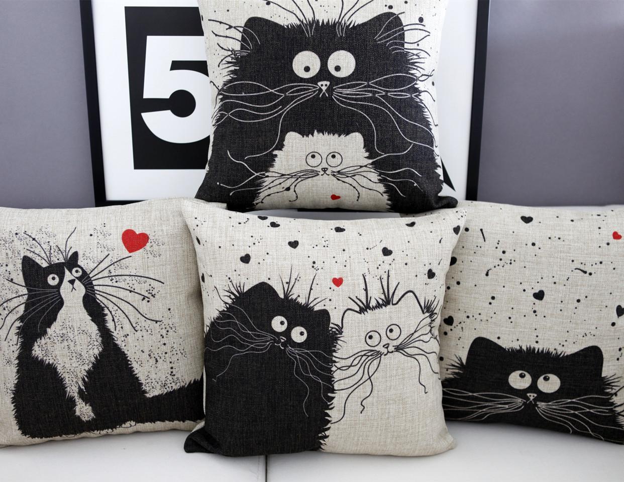 Cats Cartoon Animal Lovers Get