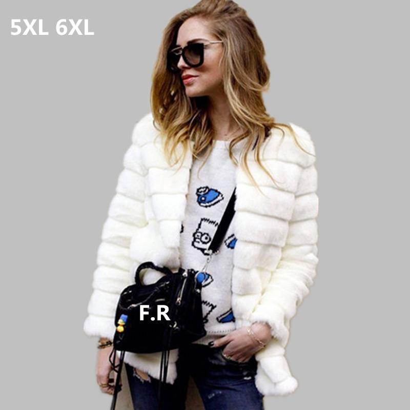 2017 2016 Women Cheap Faux Fur Coat Winter Cheap Mink Fur Jacket ...