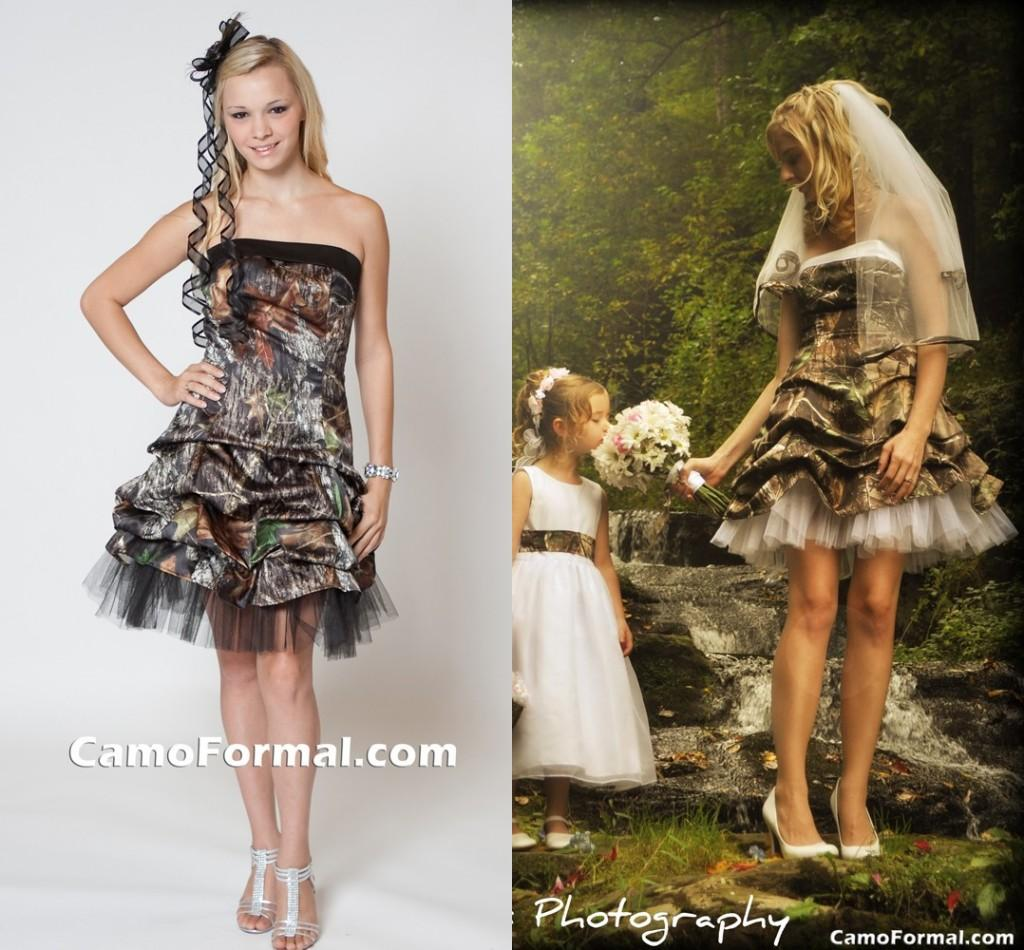 Camouflage short bridal dressesother dressesdressesss camouflage short bridal dresses ombrellifo Image collections