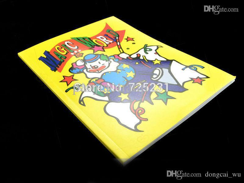 Wholesale A Fun Magic Coloring Book Large Size Magic